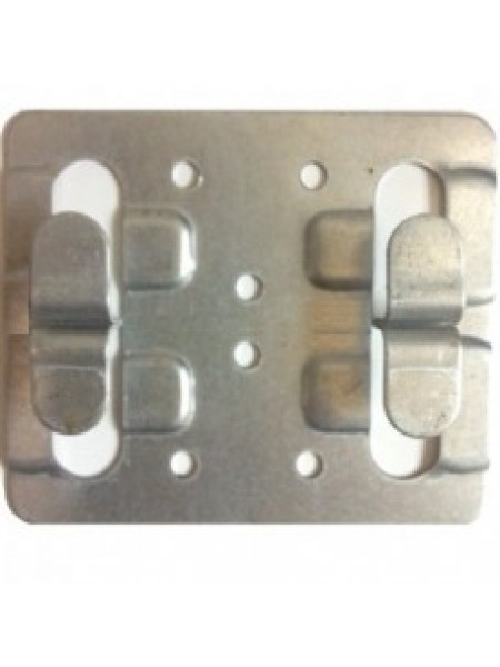 Кляммер рядовой оцинкованный 1 мм (без покраски)